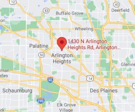 Google Map - Arlington Heights Office Location